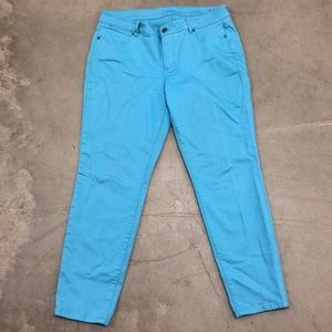Talbots Signature Ankle Colored Jeans